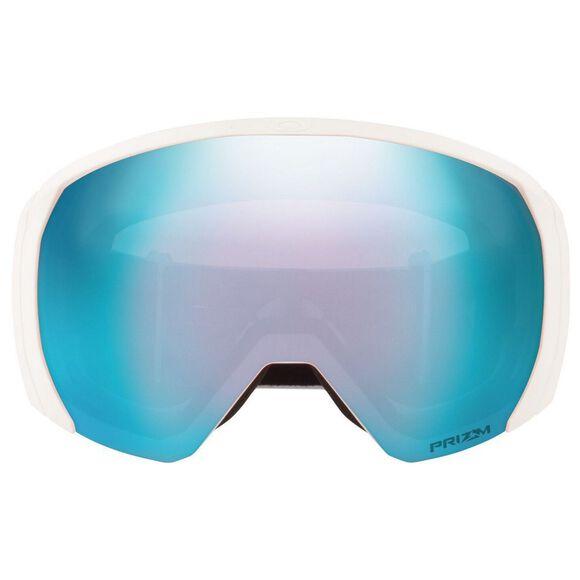 Flight Path XL Matte White, Prizm Snow Sapphire alpinbriller