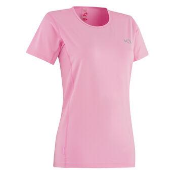 KARI TRAA Nora Tee teknisk t-skjorte dame Rosa