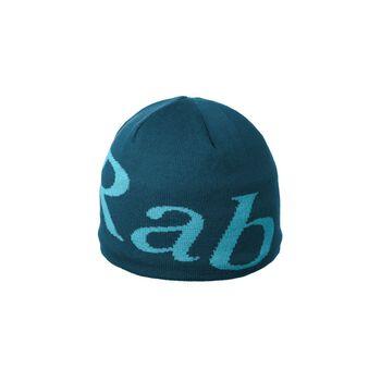Rab Logo Beanie lue Herre Blå