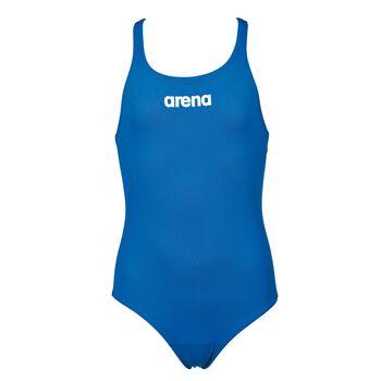 Arena Solid Swim Pro badedrakt barn/junior Blå