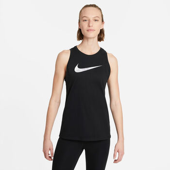 Nike Dri-FIT Icon Clash treningssinglet dame Svart