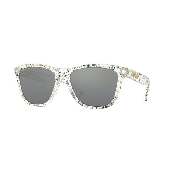 Frogskins Prizm™ Black - Splatter Clear solbriller