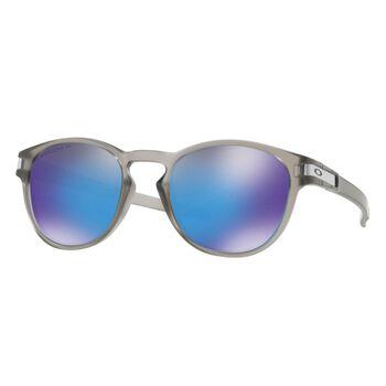 Oakley Latch Prizm™ Sapphire Polarized - Matte Grey Ink solbriller Herre Grå