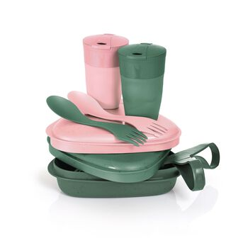 Light My Fire Pack´n Eat Kit for 2 BIO måltidssett Rosa