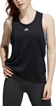adidas Training 3-Stripes AEROREADY singlet dame Svart