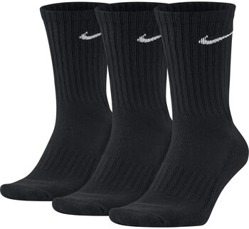 Nike Value Cotton 3-pk tennissokk Svart