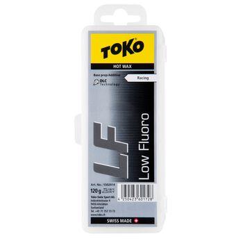 TOKO LF Hot Wax 120 gram grunnvoks sort Svart