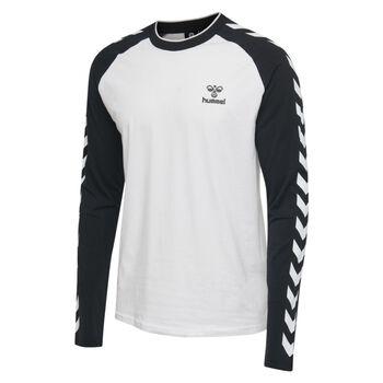 Hummel Mark T-shirt L/S genser herre Hvit