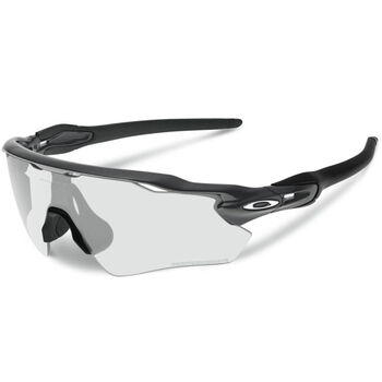 Oakley Radar EV Path Clear To Black Photochromic - Steel sportsbriller Herre Svart