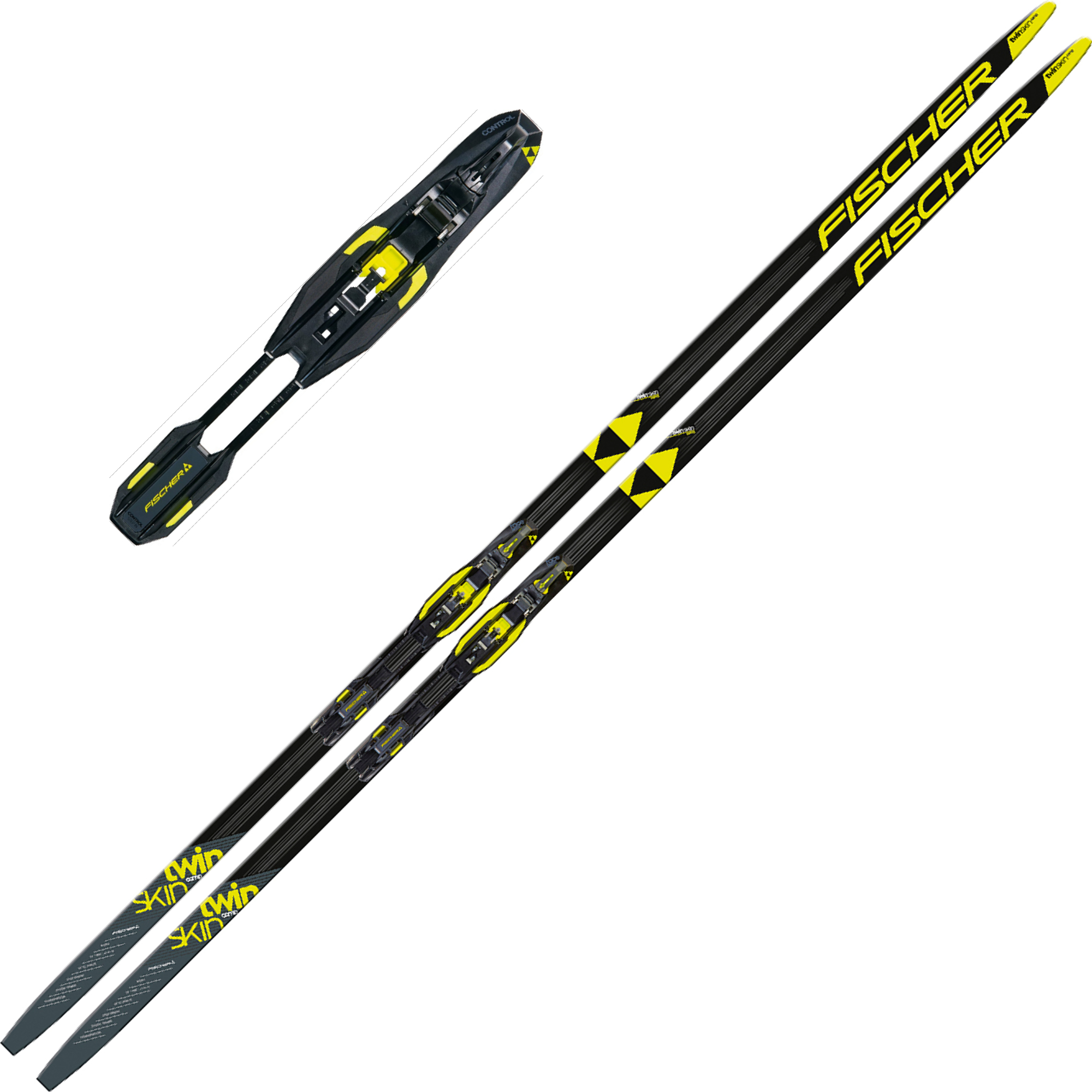 Fischer Twin Skin COMP IFP Medium med Binding + 20% på RC7 klassisk skistøvel