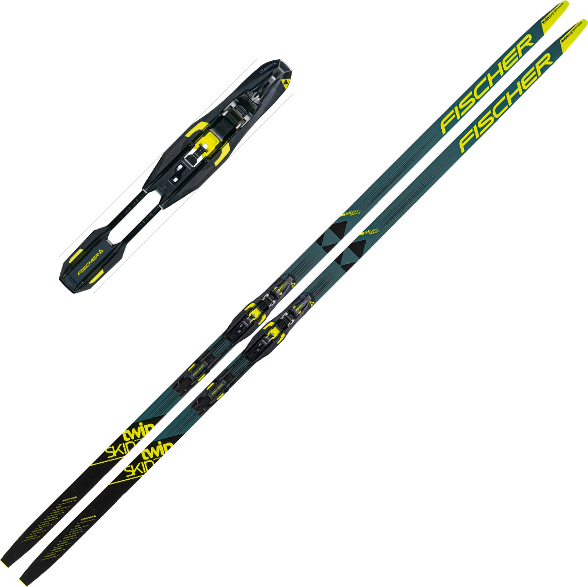 Fischer Twin Skin Performance IFP Medium med Binding + 20% på TCL klassisk skistøvel